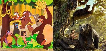 Bild zu:  Die Poster zum Zeichentrick-Dschungelbuch und dem CGI-Jungle Book