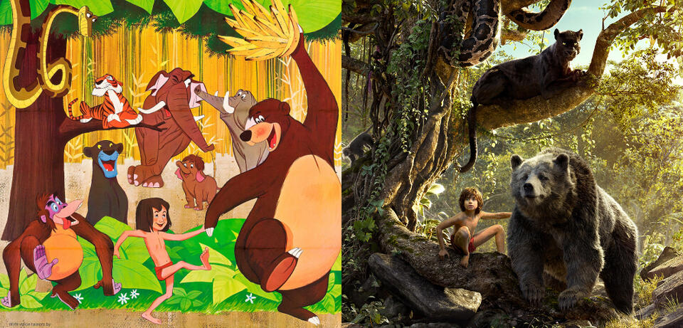 Charaktere Dschungelbuch