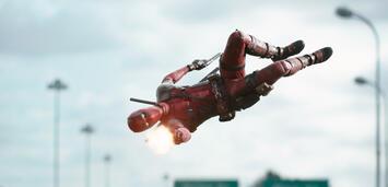 Bild zu:  Ryan Reynolds in Deadpool.