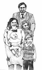 Familienfoto - Poster