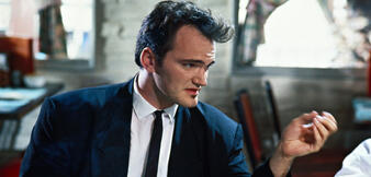 Quentin Tarantino in Reservoir Dogs