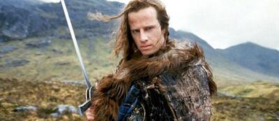 Christopher Lambert in Highlander