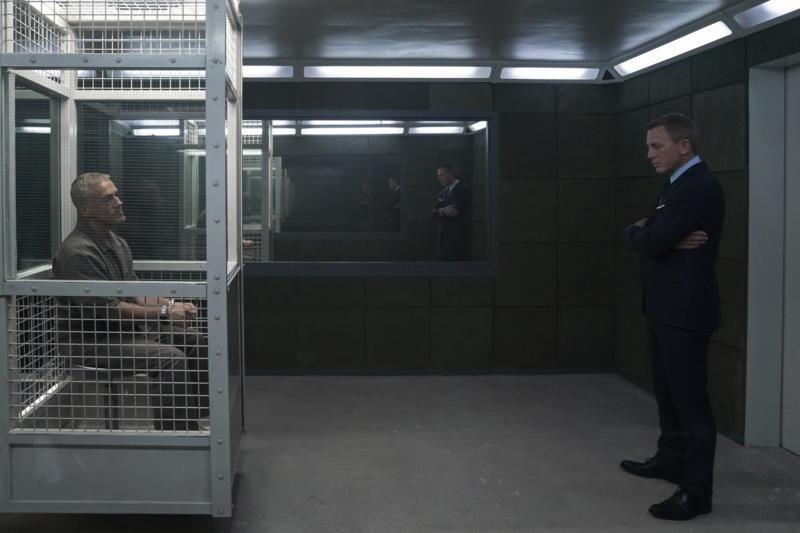 James Bond 007 - Keine Zeit zu sterben mit Christoph Waltz und Daniel Craig