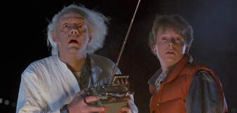 Sind Baff: Doc Brown und Marty