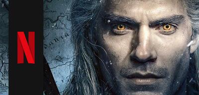 Geralt von Riva (Henry Cavill) in The Witcher