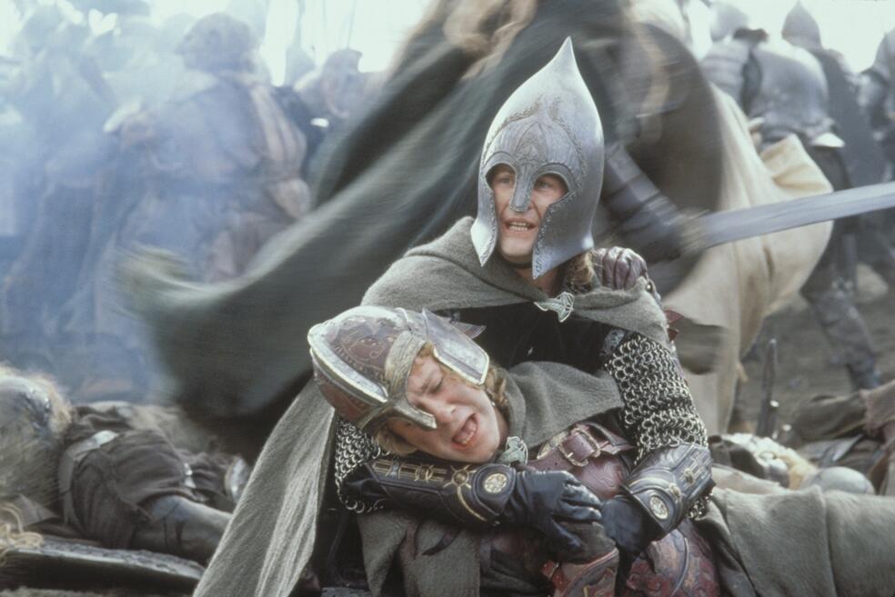 Der Herr der Ringe: Die Rückkehr des Königs mit Dominic Monaghan und Billy Boyd