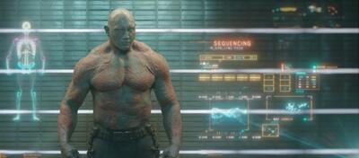 Dave Bautista als Drax the Destroyer in Guardians of the Galaxy