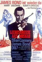 James Bond 007 - Liebesgrüße aus Moskau Poster