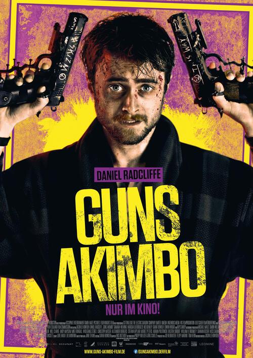 Ganzer  HD-.Film Guns Akimbo (2020) German 1080p [Guns Akimbo ...