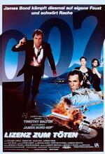 James Bond 007 - Lizenz zum Töten Poster