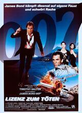 James Bond 007 - Lizenz zum Töten - Poster