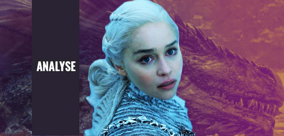 Viserions Todesszene in Game of Thrones