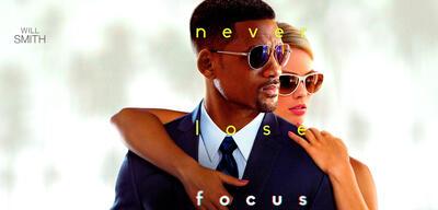 Will Smith &Margot Robbie in Focus