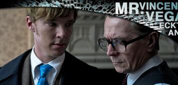 Bild zu:  benedict Cumberbatch und Gary Oldman in Dame König As Spion