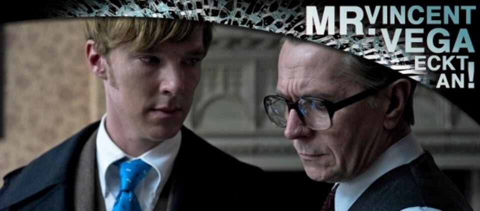 benedict Cumberbatch und Gary Oldman in Dame König As Spion