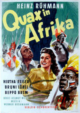 Quax in Afrika - Poster