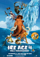 Ice Age 4 - Voll verschoben - Poster