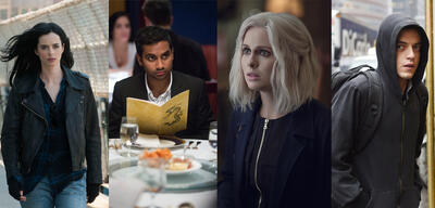 Marvel's Jessica Jones, Master of None, iZombie und Mr. Robot