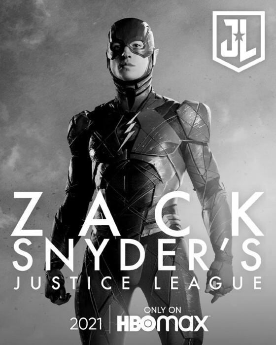 Zack Snyder's Justice League mit Ezra Miller
