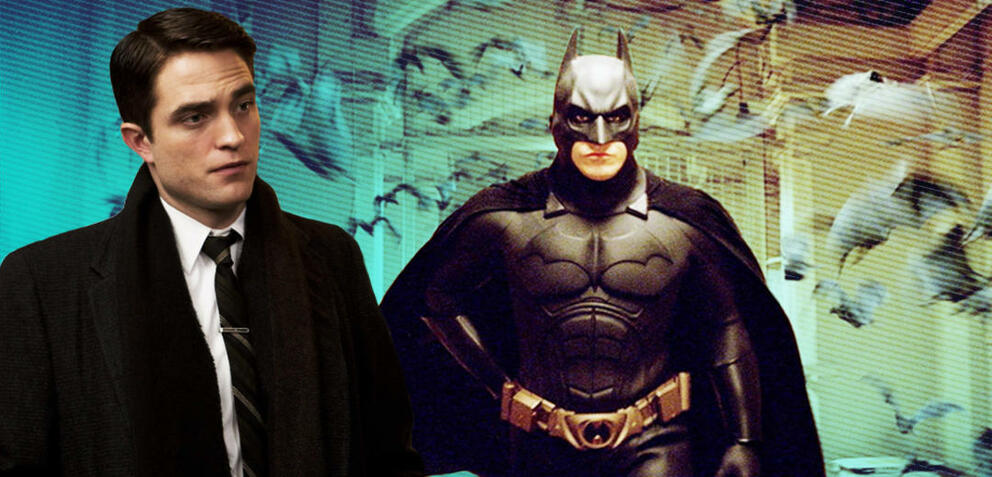 Robert Pattinson in Life/Christian Bale als Batman