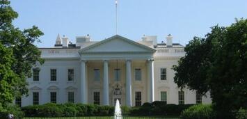 Bild zu:  Das Weiße Haus in Washington