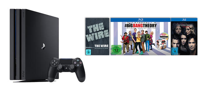 Ps4 Pro Für 346 The Big Bang Theory The Wire Vampire Diaries