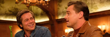Brad Pitt und Leonardo DiCaprio in Once Upon a Time ... in Hollywood