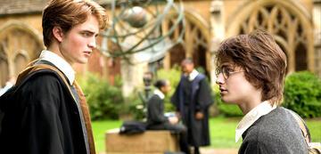 Harry Potter und Cedric Diggory