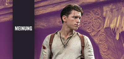 Tom Holland als Nathan Drake in Uncharted