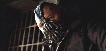 Tom Hardys Bane in The Dark Knight Rises