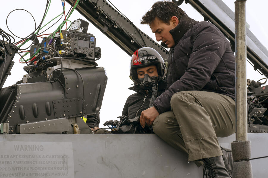 Top Gun 2: Maverick mit Tom Cruise