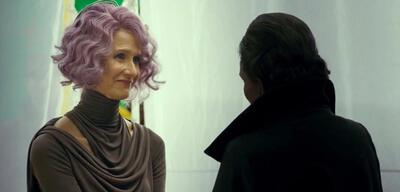 Laura Dern alsAmilyn Holdo in Star Wars: Die letzten Jedi
