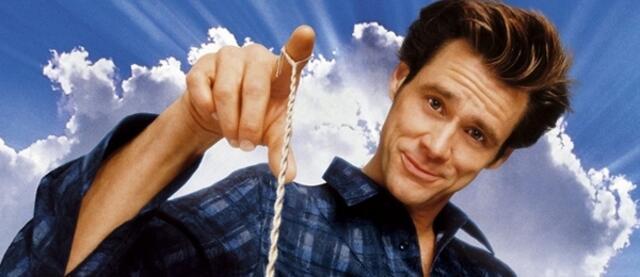 Jim Carrey hat in Bruce Allmächtig die Fäden in der Hand