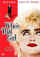 Who's That Girl - Poster