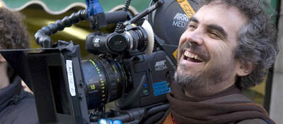 Alfonso Cuarón hat Spaß bei der Arbeit