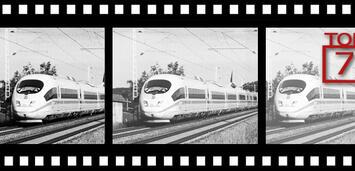 Bild zu:  Zug im Film oder Film im Zug?