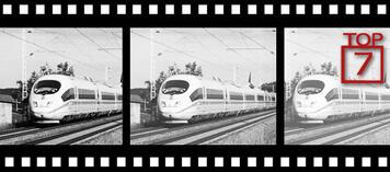 Zug im Film oder Film im Zug?