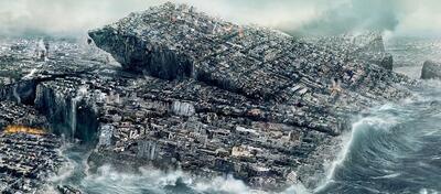 Naturkatastrophe a la Roland Emmerich in 2012