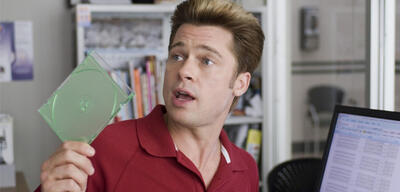 Brad Pitt in Burn After Reading