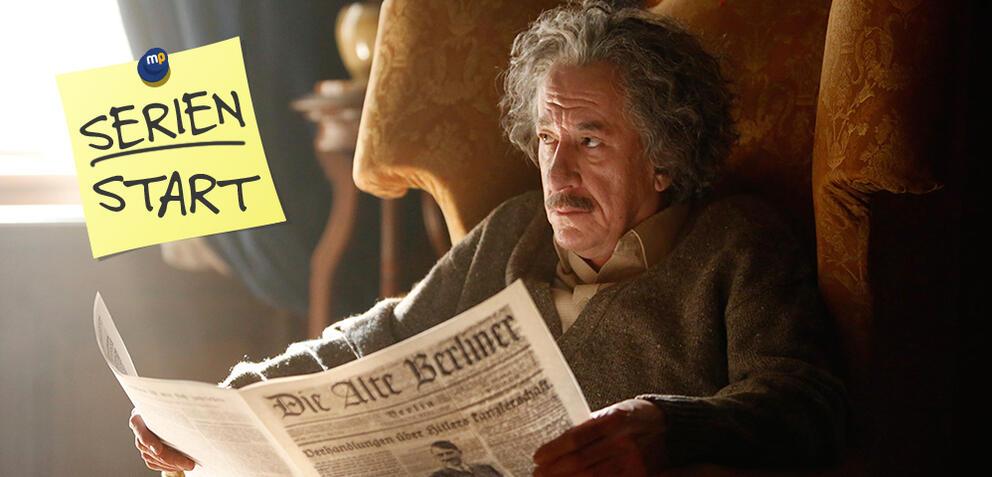 Genius, Staffel 1: Geoffrey Rush als Albert Einstein