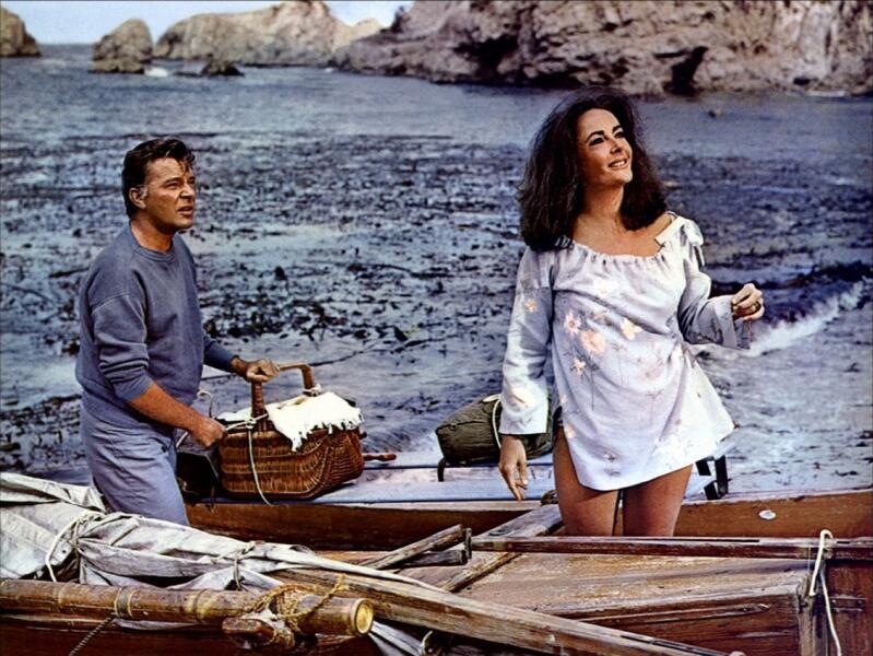 ...die alles begehren mit Elizabeth Taylor und Richard Burton