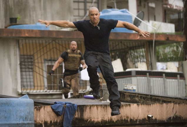 Fast & Furious Five mit Vin Diesel