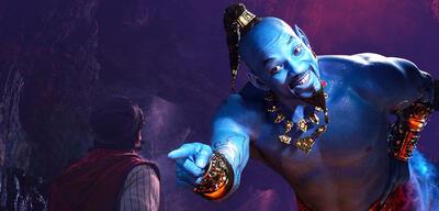 Will Smith als Genie in Aladdin