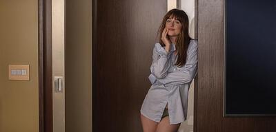 Dakota Johnson in Fifty Shades of Grey 2