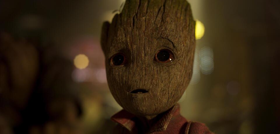 In Guardians of the Galaxy Vol. 2 wirkt Baby-Groot eigentlich zahm