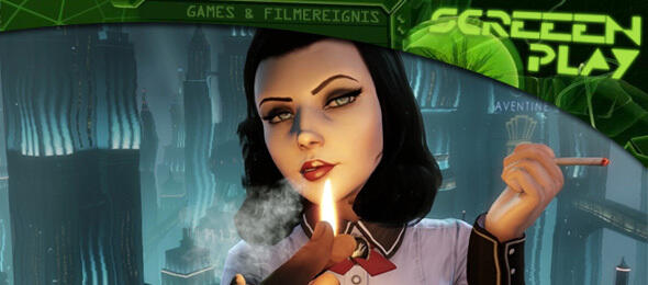 Elizabeth als Femme Fatale in BioShock Infinite: Burial At Sea