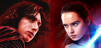 Bild zu:  Kylo Ren und Rey in Star Wars 8