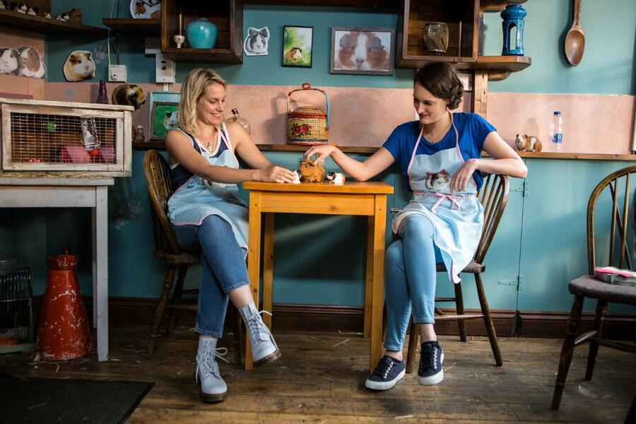 Fleabag, Fleabag - Staffel 1 mit Phoebe Waller-Bridge und Jenny Rainsford