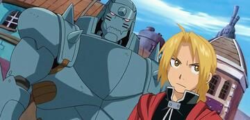 Edward und Alphonse in Fullmetal Alchemist: Brotherhood