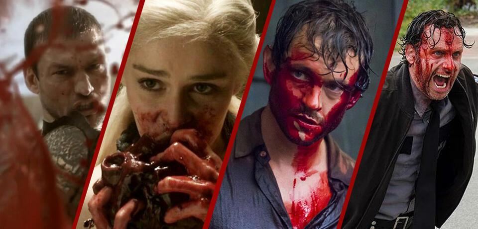Die brutalsten und blutigsten Serien
